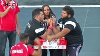 """Liban : une compétition """"musclée"""", de bras de fer"""
