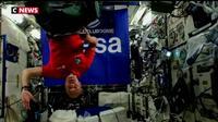 Un astronaute se transforme en DJ le temps d'une soirée
