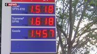 Carburants : les prix continuent de baisser