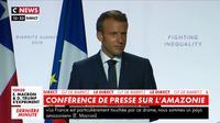 Emmanuel Macron : «J'espère que les Brésiliens auront un président qui se comporte à la hauteur»