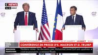 G7 : E. Macron et D. Trump affichent leur entente