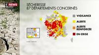 La sécheresse frappe toujours la France