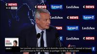 E. Macron sur les retraites : «Ce n'est pas une clarification, c'est une indication», selon Bruno Le Maire