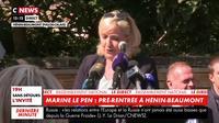 Marine Le Pen : « C'est l'image de notre pays qui a été abîmée »