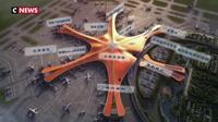 Chine: Pékin inaugure son aéroport géant