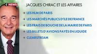 Décès de Jacques Chirac : les affaires judiciaires de l'ancien président