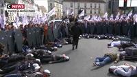 «Marche de la colère» : les policiers ont fait entendre leur voix