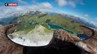 Un aigle et une caméra pour surveiller la fonte des glaciers alpins