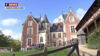 Visite du château du Clos Lucé à Amboise où Léonard de Vinci vécut les dernières années de sa vie