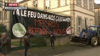 Mobilisation : les agriculteurs manifestent devant les préfectures