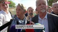 Intempéries : la ministre des Transports se rend sur place