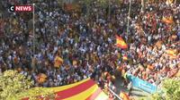 Catalogne : les anti-indépendantistes eux aussi dans les rues de Barcelone