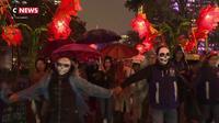 Les Mexicains fêtent les morts dans la joie