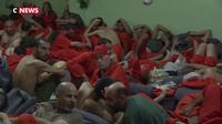 Syrie : des milliers de combattants de Daesh détenus par les Kurdes dans la prison de Hassaké