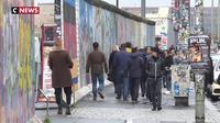 Le tourisme du Mur du Berlin