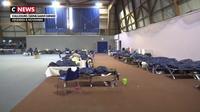 Une centaine de migrants installée à Vaujours pour un mois