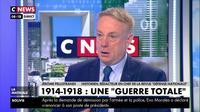 «On ne peut pas faire de la politique sans se référer à notre histoire», selon Jérôme Pellistrandi