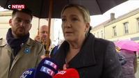La réaction de Marine Le Pen à propos de l'enfant portant une étoile jaune