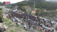 La frontière franco-espagnole bloquée par des indépendantistes catalans