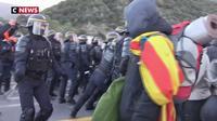 Catalogne : les indépendantistes délogés de la frontière franco-espagnole