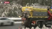 Les routes du sud-est perturbées par la neige