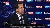 Stèle attaquée : «On peut être imbécile, brute et voyou» dénonce Christophe Castaner #LeGrandRDV