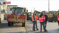 Bretagne : des dépôts pétroliers bloqués par des professionnels du BTP