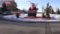 Dignes-les-Bains : un sapin de Noël coupé à la tronçonneuse
