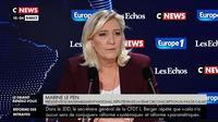 Ce qu'il faut retenir de l'interview de Marine Le Pen dans le Grand Rendez-Vous