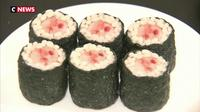 Des sushis dignes d'un film d'horreur