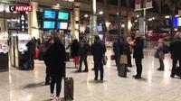 À la SNCF, la grève entraîne des bugs et la suspension de certains services