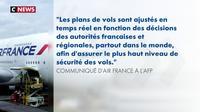 Air France suspend « tout survol des espaces aériens iranien et irakien »