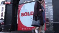 A Lille, commerçants et clients attendaient les soldes avec impatience