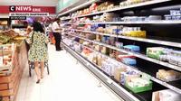 En Martinique, les grèves ont un impact jusque dans les rayons des supermarchés