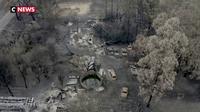 Victoria : un décor d'apocalypse causé par les flammes