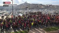 Grève du 16 janvier : revivez la manifestation contre la réforme des retraites en régions