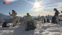 L'élite de l'alpinisme militaire s'entraîne en Haute-Savoie avant une mission stratégique