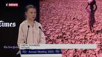 À Davos, Greta Thunberg et Donald Trump s'opposent par discours interposés
