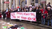 Réforme des retraites : l'opération collège mort se multiplie en Gironde