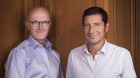 Les auteurs Jean-Michel Arnaud, vice-président de Publicis Consultants, et David Lisnard, maire de Cannes (LR).