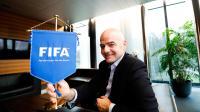 Gianni Infantino occupe la tête de la Fifa depuis bientôt un an.