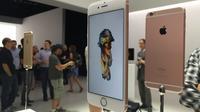Les nouveaux modèles d'iPhone accueillent un nouveau coloris, l'aluminium or rose.