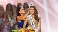 Iris Mittenaere a été élue Miss Univers en 2016
