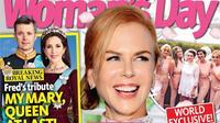 C'est le magazine australien Woman's Day qui a révélé les premières images du mariage