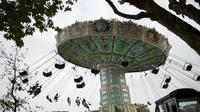 Les chaises volantes, une attraction «phare» du Jardin d'Acclimatation qui sera rénovée et rethématisée.