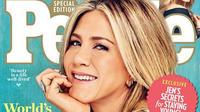 """Jennifer Aniston, 47 ans, élue """"Plus belle femme du monde"""" pour la deuxième fois par le magazine People"""