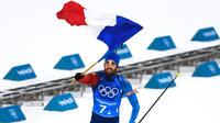 Vainqueur du relais mixte, Martin Fourcade a décroché son cinquième titre olympique.