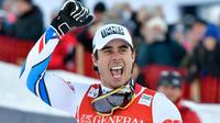 Le skieur de Tignes a terminé à neuf centièmes de Dominik Paris.