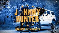 """""""Johnny, chasseur de migrants"""" est le personnage principal de la """"web-série satirique"""", qui incarne """"violence, absurdité et contradictions des politiques migratoires européennes actuelles"""", selon le communiqué de MSF."""