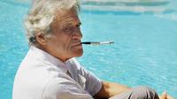 Portrait réalisé en décembre 1971 à Nice, dans le sud de la France, de Joseph Kessel, journaliste et romancier français.